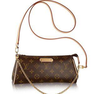 Louis Vuitton Eva Clutch Monogram Crossbody bag